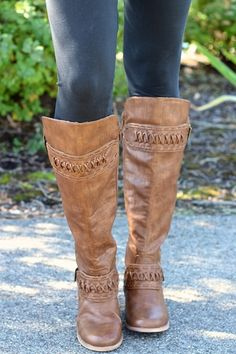 Up Street Stitch Qulited Tall Boots