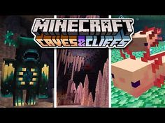 Everything You Need To Know About Minecraft 1.17 - Caves And Cliffs - YouTube Amazing Minecraft, Minecraft 1, Preston Playz, Minecraft Creations, Cliff, Need To Know, Everything, Caves, Youtube