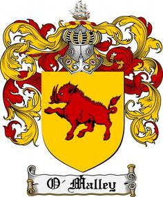O'malley Coat of Arms O'malley Family Crest Instant Download - for ...