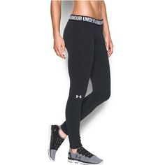 ded0785d17ae6 Under Armour Women's Favorite Legging, Black/Black, Small. UA Charged  Cotton tri