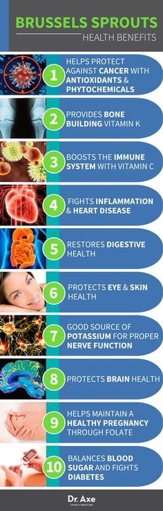 Brussels Sprouts Benefits www.draxe.com #health #holistic #natural