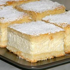 Recipe world: Grandma& heavenly cream cake - Backen - Churro Cheesecake, Classic Cheesecake, Easy Cheesecake Recipes, Dessert Recipes, Desserts, Sicilian Recipes, Hungarian Recipes, Romanian Food, Polish Recipes