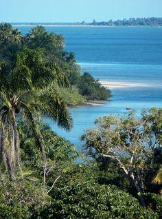 Ilha de Itaparica, na Bahia