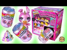 The vending machine is now working? Who jammed it with soda cans. Oh wait those are Sparkly Critter Surprise blind bags! Yay each cute pet has secret slime . Little Pet Shop, Little Pets, Lol Dolls, Barbie Dolls, Cookie Swirl C Youtube, Diy Galaxy Jar, Cute Games, Making Hair Bows, Cute Toys