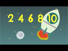 Go up into space as you count up by twos with a dog and a song on a crazy rocket cruise! The Counting by Twos song teaches skip counting by If you are lea. Counting Songs, Math Songs, Skip Counting, Math Classroom, Kindergarten Math, Teaching Math, Preschool, Math Resources, Math Activities