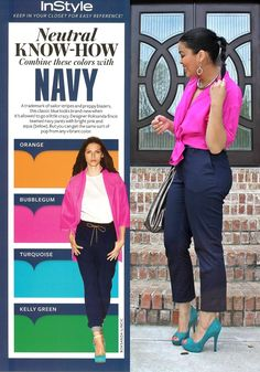 inspired by instyle neutral know-how NAVY
