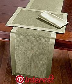 Dillard's Wedding, Baby & Gift Registry Table linens Patchwork Table Runner, Table Runner And Placemats, Table Runner Pattern, Dining Table Runners, Burlap Table Runners, Burlap Crafts, Diy Home Crafts, Rustic Placemats, Boho Home