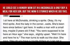 Mom Tries To Buy Her Son A Meal. When A Stranger Does THIS To Her? She's Stunned
