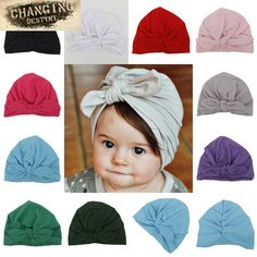 10 Colors Spring Cute Newborn Baby Hats Rabbit Ear Knot Caps India Hat Cotton Unisex Girls Boys Hats Warm Infant Hat Candy Color #Affiliate