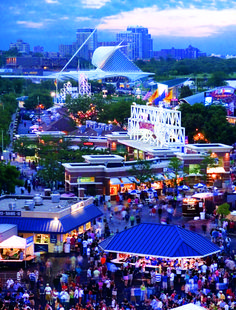 Summerfest- the World's Largest Music Festival held in Milwaukee. This year: June 27-July 1, July 3-July 8, 2012. Headliners include Chicago, ZZ Top, The Roots, Ben Folds Five, and The Hives