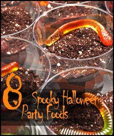 8 spooky halloween party food ideas