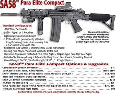 SA58 FAL PARA Elite Compact Rifle, .308 Cal.