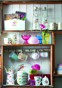 New Pastel Floral Homewares from Dunelm Mill