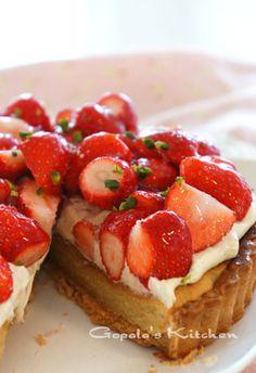 Strawberry Tart いちごのタルト☆Hanuman Jayanti