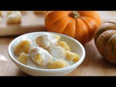 Pumpkin gnocchi with gorgonzola sauce recipe - kids friendly ...