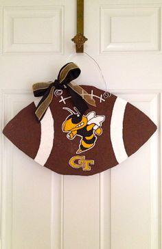 Georgia Tech football door hanger.