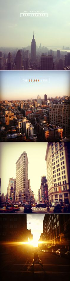 New York City | The Golden Hour