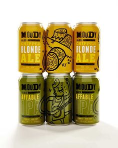 Moody Ales #graphicdesign #graphics #design #ale #beer #brand #brandidentity #print #vancouver #craft #typography #packaging