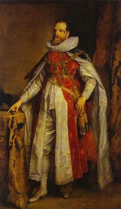 Anthony van Dyck, Portrait of Henry Danvers, Earl of Danby, as a Knight of the Order of the Garter, 1630