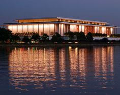 KENNEDY CENTER... can't believe I haven't been yet...