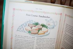 Anne of Green Gables Tea Party - four courses like in the book