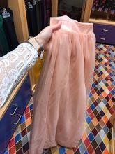Tienda Online Dynamic durazno Pink Long Tulle faldas para dama de honor a  la fiesta de 154c3b000865