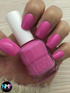 Pink Nail Polish, Nail File, Pretty Nails, Nail Colors, Swatch, Beauty Makeup, Nail Art, Cosmetics, Shapes