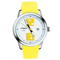 Cheap femme fashion, Buy Quality femme brand directly from China femme montre Suppliers: SINOBI Fashion Sports Women Wrist Watches Silicone Watchband luxury Brand Ladies Running Geneva Quartz Clock Montres Femmes 2017 Sport Watches, Watches For Men, Wrist Watches, Women's Watches, Ladies Watches, Sport Mode, Top Luxury Brands, Waterproof Watch, Rubber Bands