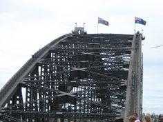 Climbing the Bridge in Sydney Harbour, Australia! http://www.getawaycruiseplanner.com