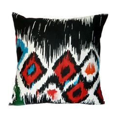 Ikat Pillow Cover 6 now featured on Fab.