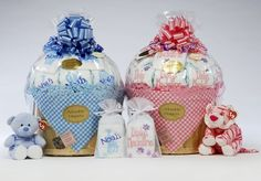 Cute baby girl and boy shower gifts