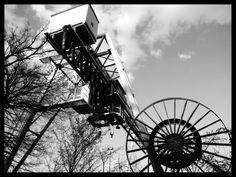https://flic.kr/p/G38kPz | the thing | Kran am Ausbesserungswerk Duisburg Entenfang, NRW - Germany