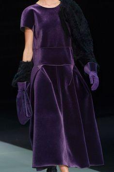 Emporio Armani at Milan Fashion Week Fall 2013 - StyleBistro