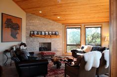 Living Room - 203 Bristlecone Pines Rd, West Sedona, Listed with Rob Schabatka from RE/MAX Sedona.