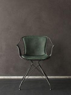 Overgaard & Dyrman Wire dining chair | iainclaridge.net