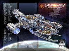All information about Firefly Serenity Ship Blueprints. Pictures of Firefly Serenity Ship Blueprints and many more. Serenity Ship, Firefly Serenity, Joss Whedon, Stargate, Firefly Art, Firefly Ship, Firefly Series, Tv Series, Westerns