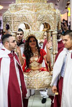 L'entrée de la mariée   Mariage oriental à Paris : Naïma et Anis - My Cultural Wedding Chic
