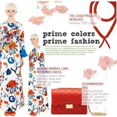 Prime colors! by thequeenstore on Polyvore featuring moda, Antonio Marras and Design Inverso
