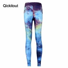 Hot Women Green Leggings green Space print pants supernova sale Milk Leggings Fitness Plus size S-XL => Save up to 60% and Free Shipping => Order Now! #fashion #product #Bags #diy #homemade
