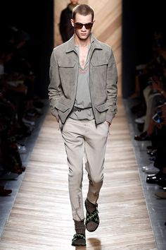 Bottega Veneta Spring 2016 Menswear - Collection  thefashionjumper.com #grey