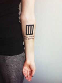 Awesome Paramore tattoo ideas - Anklebiters lyrics