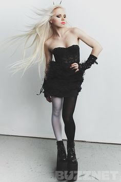 Buzzmaker Photo Shoot: Kerli