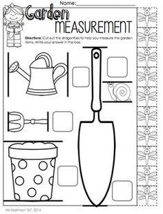 measurement scavenger hunt ideas First Grade Garden