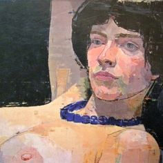 """ Euan Uglow Euan Ernest Richard Uglow was a British painter. He is famous for his nude and still life paintings such as German Girl and Skull. Figure Painting, Figure Drawing, Painting & Drawing, Art And Illustration, Coin D'art, L'art Du Portrait, Portraits, Figurative Kunst, Art Corner"