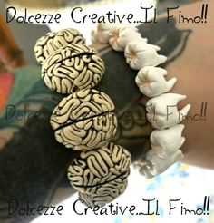 Hey, I found this really awesome Etsy listing at https://www.etsy.com/listing/192289576/teeth-and-brains-bracelet-pastel-goth