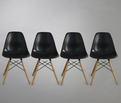 Set de 4 Sillas Replica Eames
