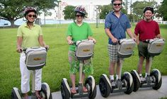 Have you ever wanted to try one of these? Half Price Tour Tickets - City Center $25 for a Two-Hour Segway Rental from Half Price Tour Tickets (Up to $50 Value)