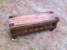 #Bench, #Garden, #RecycledPallet