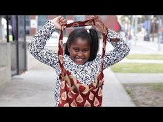 This 9-Year-Old Girl Creates Beautiful Care Packages For Homeless Women - YouTube