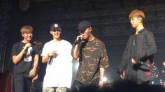 B.I, Jinhwan, Junhoe & Chanwoo @ SHOWTIME TOUR - Kuala Lumpur Soundcheck Party